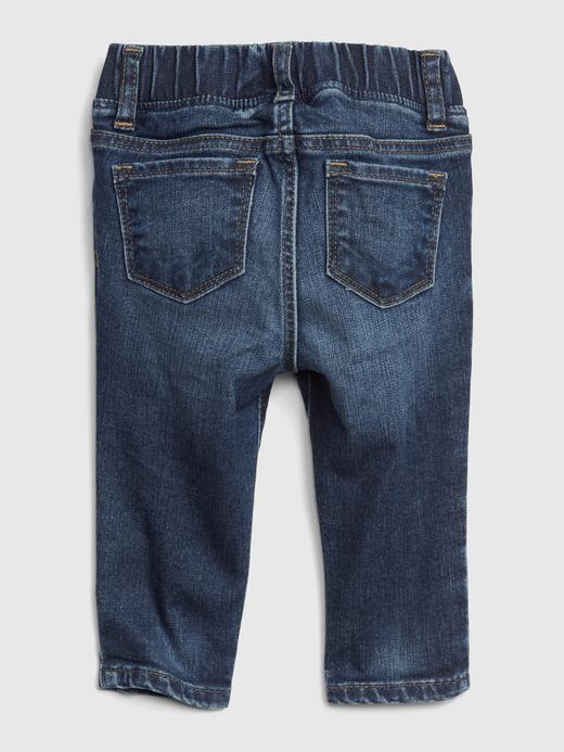 Kız Bebek lacivert Jegging Pantolon