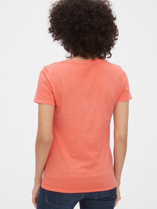 Vintage Kısa Kollu Sıfır Yaka T-Shirt