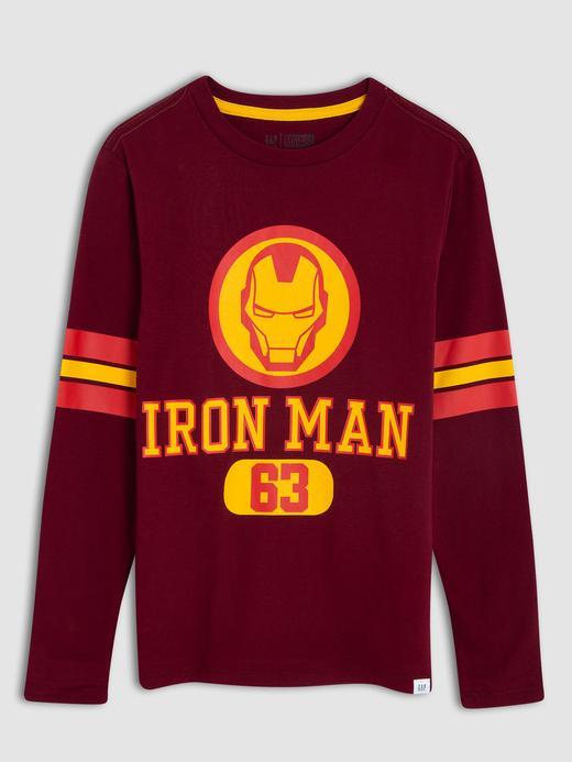 Erkek Çocuk bordo Marvel™ Uzun Kollu T-shirt