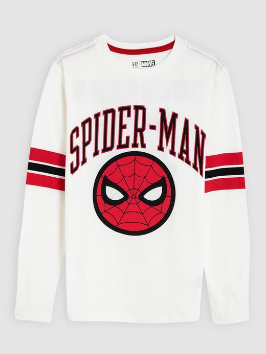 Erkek Çocuk kırık beyaz Marvel™ Uzun Kollu T-shirt