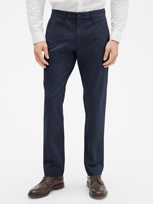 Erkek Lacivert Slim Khaki Pantolon