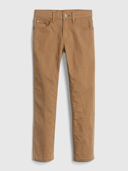 Kanvas Khaki Pantolon