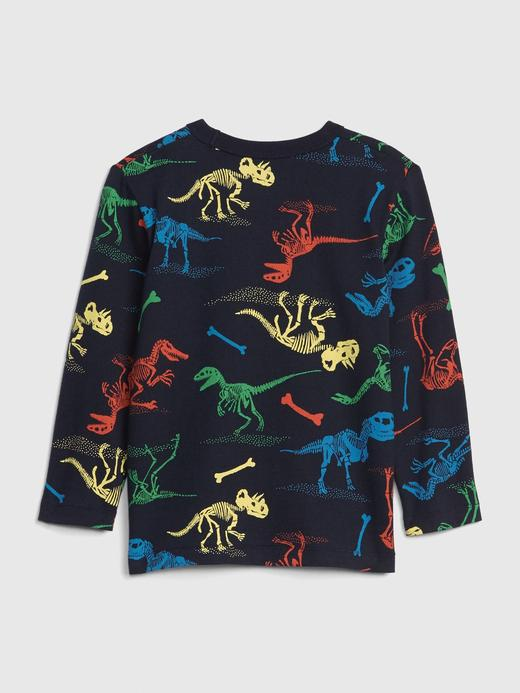 Print Uzun Kollu T-Shirt