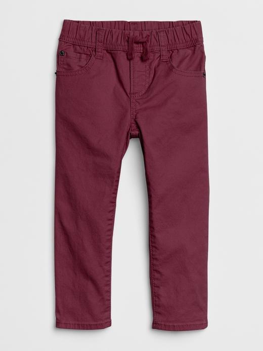 Bebek bordo Slim Jean