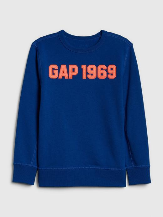 Erkek Çocuk Mavi Erkek Çocuk Gap Logo Sweatshirt
