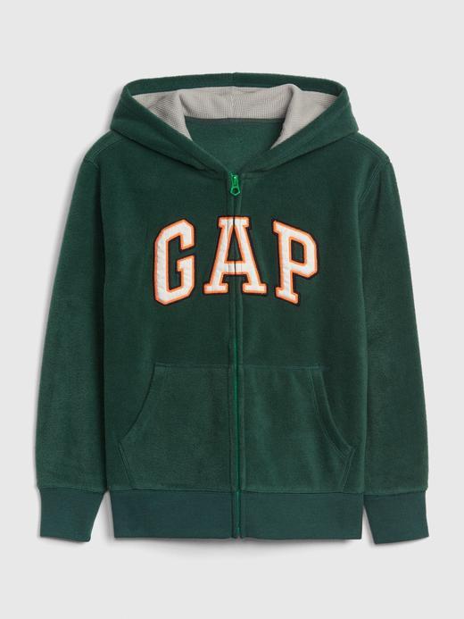 Erkek Çocuk Yeşil Gap Logo  Sweatshirt