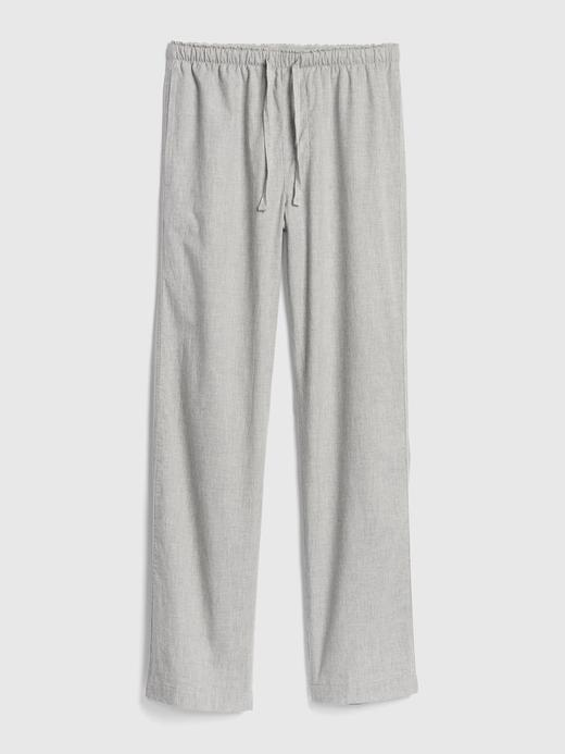 Erkek Lacivert Poplin Pijama Altı
