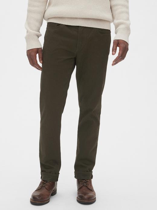 Erkek Yeşil Slim Jean Pantolon