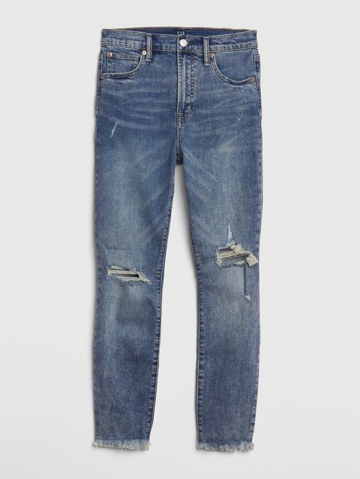 Yüksek Belli True Skinny Jean Pantolon