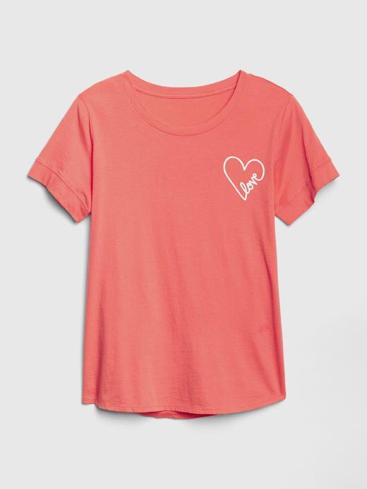 Kadın Beyaz Kısa Kollu Grafik T-shirt