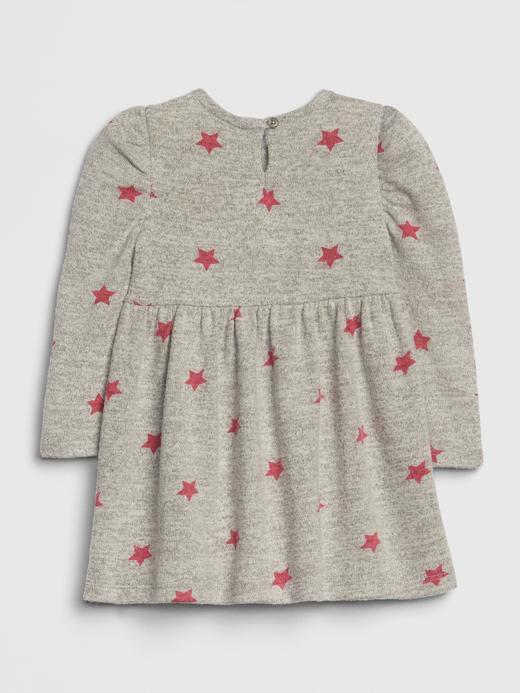 Softspun Desenli Elbise