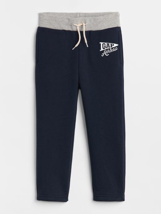 Bebek lacivert Gap Logo Jogger Pantolon