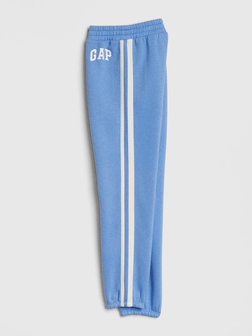 Kız Çocuk koyu lacivert Gap Logo Jogger Pantolon