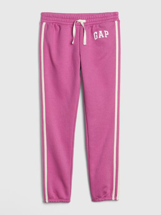 Kız Çocuk Pembe Gap Logo Jogger Pantolon