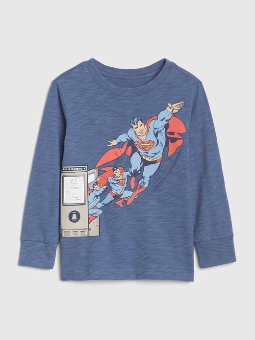Bebek mavi DC™ Uzun Kollu T-shirt