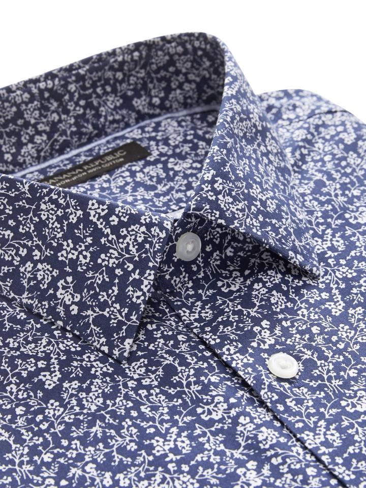 Slim Fit Ütü Gerektirmeyen Gömlek