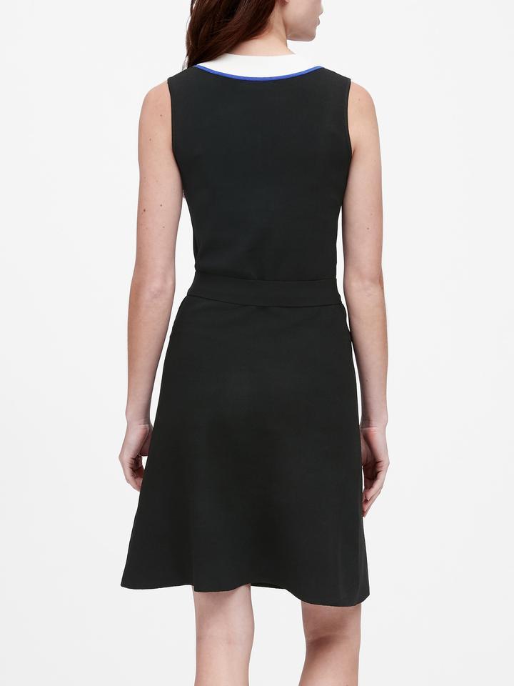Kadın Siyah Kemerli Elbise