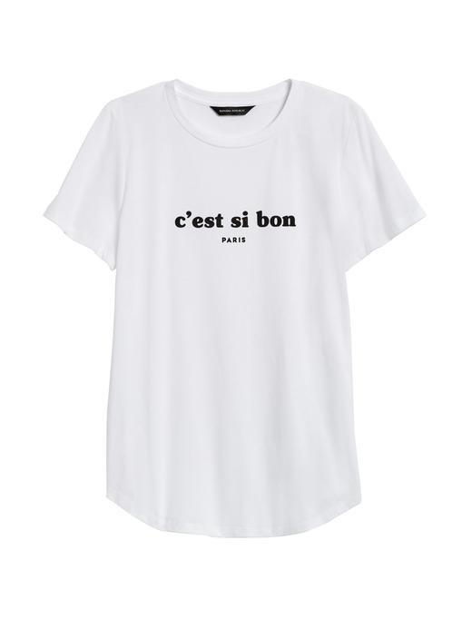 SUPIMA® Pamuklu Grafic T-Shirt