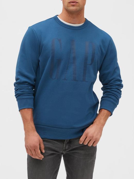 Erkek mavi Gap Logo Sweatshirt