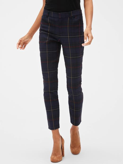 Skinny Bilekte Pantolon