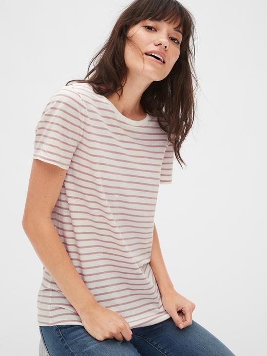 Çizgili T-Shirt