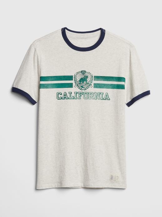 Erkek Gri Graphic T-Shirt