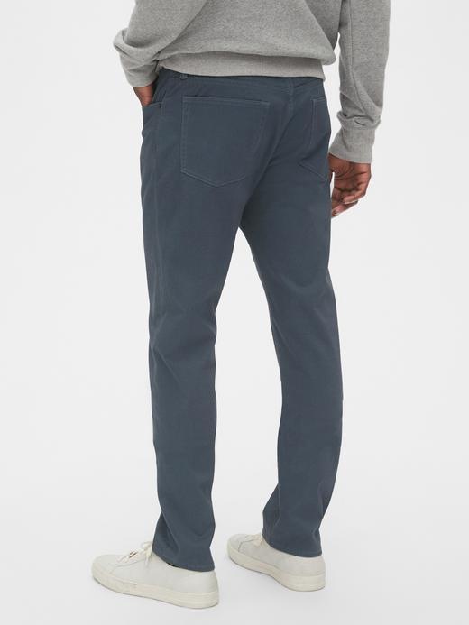 Erkek Siyah GapFlex Slim Jean Pantolon