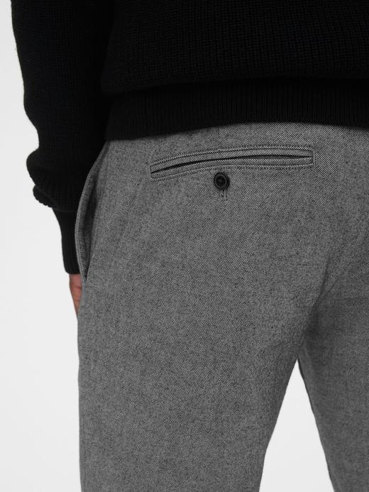 Erkek Gri GapFlex Slim Fit Pantolon