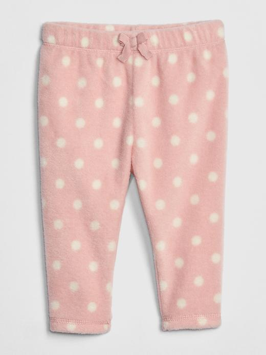 Bebek pembe Pull-On Polar Tayt Pantolon