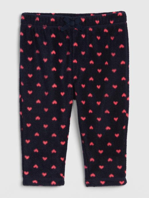Bebek Lacivert Pull-On Polar Tayt Pantolon