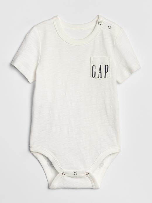 Bebek Beyaz Gap Logo 50.Yıl Body