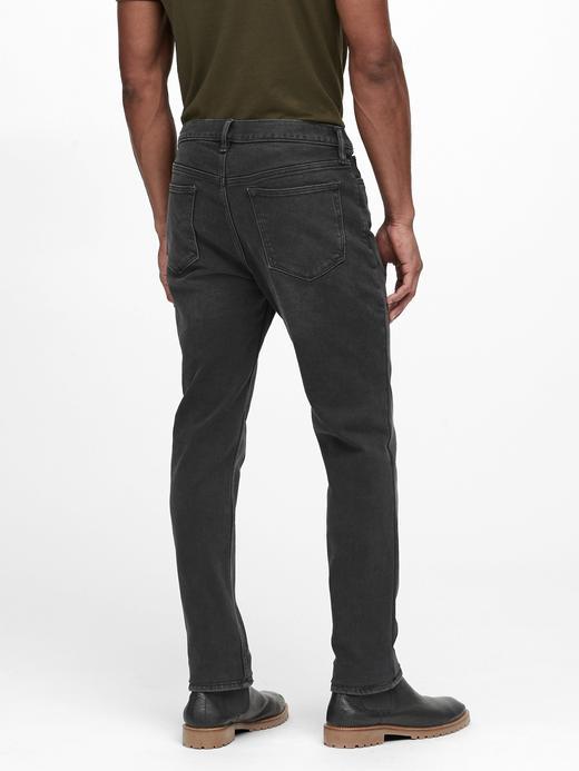 Erkek Gri Slim Jean Pantolon