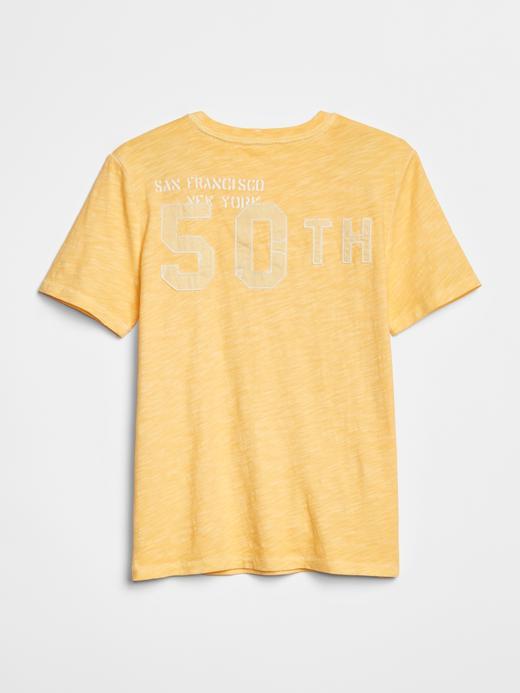 Gap Logo 50.Yıl Kısa Kollu T-Shirt
