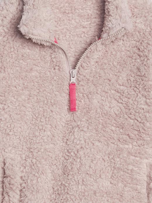 Kız Çocuk Sherpa Sweatshirt