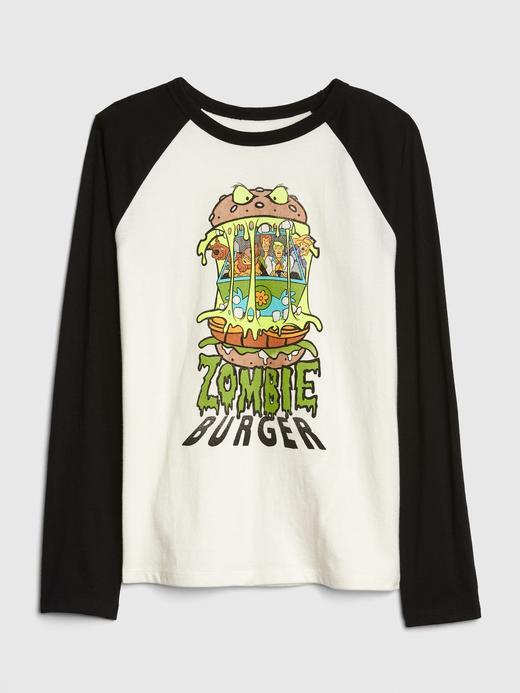 Erkek Çocuk kırık beyaz Erkek Çocuk WB Reglan Kollu T-Shirt