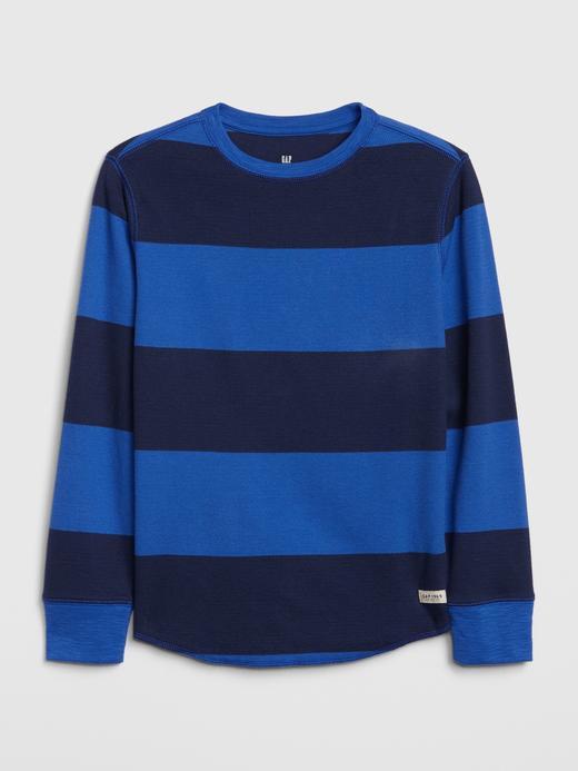Erkek Çocuk Uzun Kollu Örgü T-Shirt
