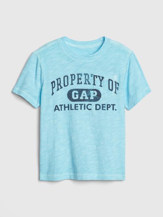 Bebek Mavi Gap Logo 50.Yıl T-shirt