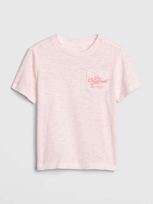 Bebek Pembe Gap Logo 50.Yıl T-shirt
