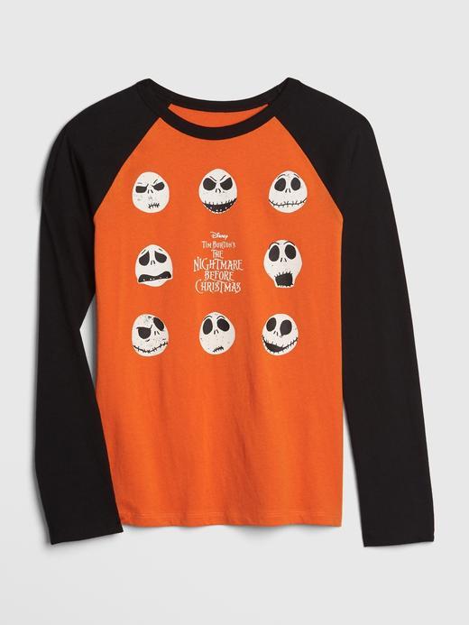 Erkek Çocuk Turuncu Erkek Çocuk Disney Reglan Kollu T-Shirt