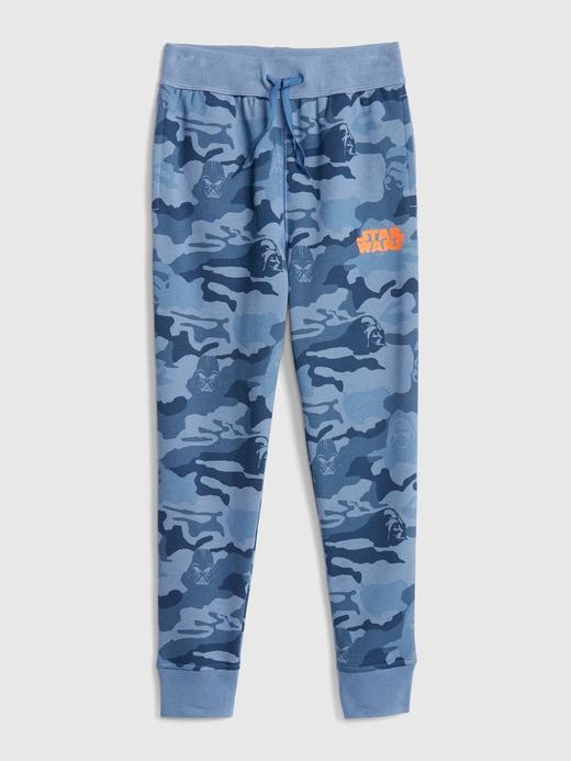 Erkek Çocuk mavi kamuflaj Erkek Çocuk Star Wars Pull-On Pantolon