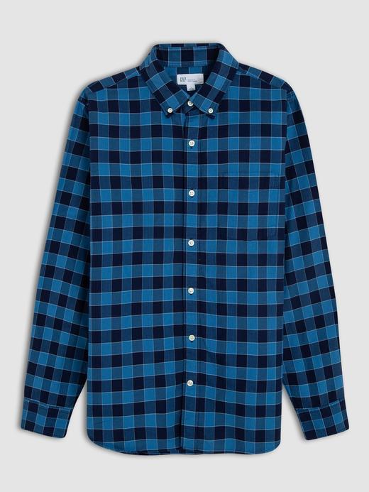 Uzun Kollu Oxford Gömlek