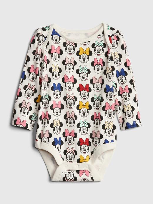Bebek Çok Renkli Disney Minnie Mouse Bodysuit