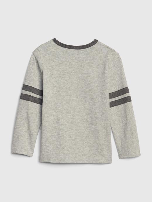 Bebek Gri DC™ Uzun Kollu T-shirt