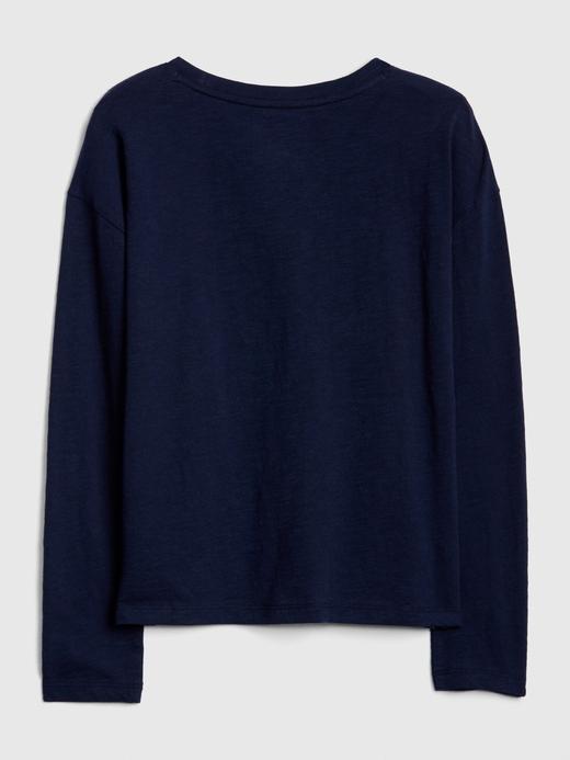 Pullu Uzun Kollu T-shirt