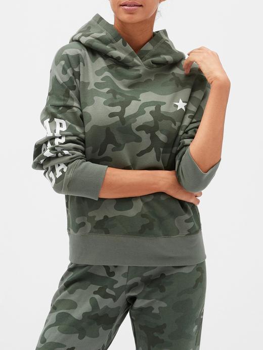 Gap Logo Pullover Kapüşonlu Sweatshirt