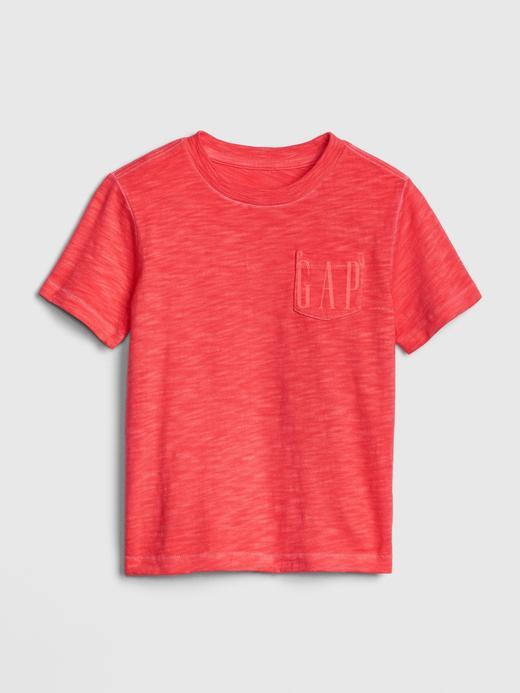 Erkek Bebek Kırmızı Gap Logo 50.Yıl T-shirt