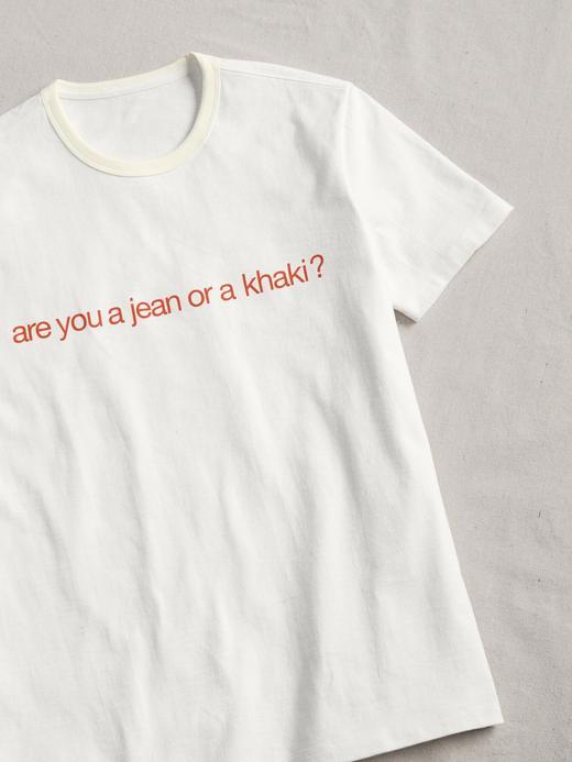 Desenli yuvarlak yaka T-Shirt