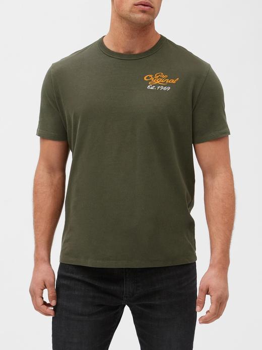 Gap Logo 50. yıl Kısa Kollu T-shirt
