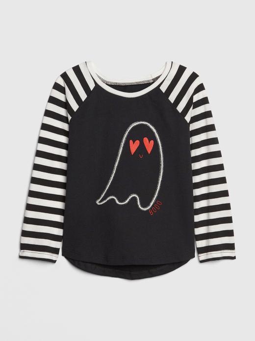 Karanlıkta Parlayan Baskılı T-Shirt