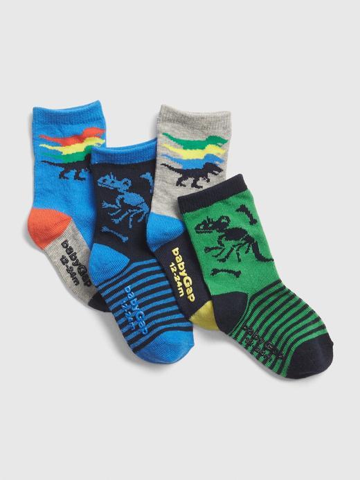 4'lü Dino Çorap Seti